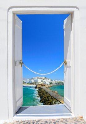 Image Porte en beauté de la Grèce - Naxos Chora