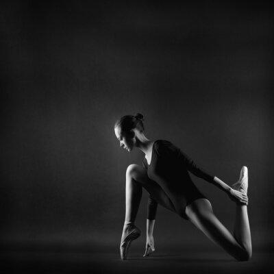 Image Portrait de jeune femme belle gymnaste