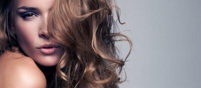 Image Portrait de style Vogue belle femme délicate