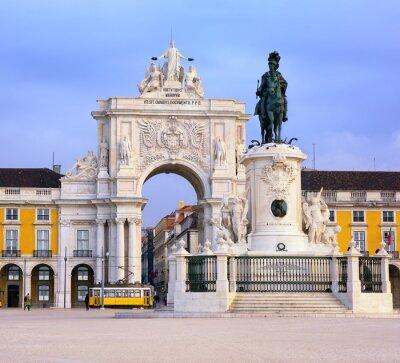 Image Praca do Comercio, Lisbonne, Portugal
