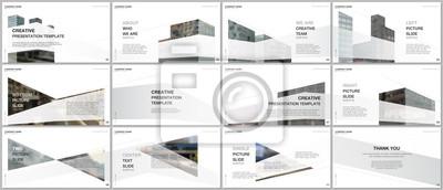 Image Presentations design, portfolio vector templates with architecture design. Abstract modern architectural background. Multipurpose template for presentation slide, flyer leaflet, brochure cover, report