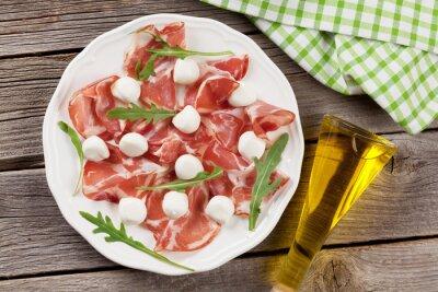 Image Prosciutto et mozzarella