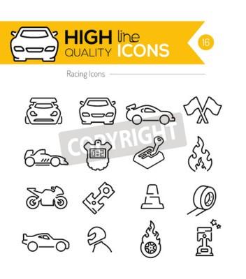 Image Racing Line Icônes