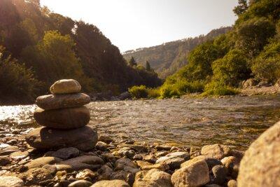Image Rafraîchissement au pied d'une rivière