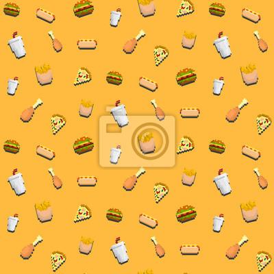 Image Rapide Modèle Dalimentation Pixel Art