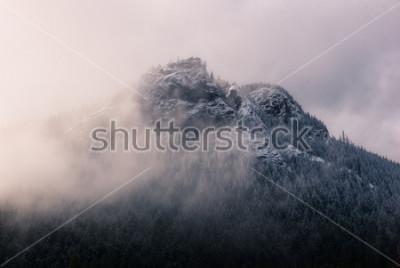 Image Rebord de crotale dans les nuages.