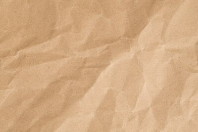 Image Recycle brown paper crumpled texture,Old paper surface for background.