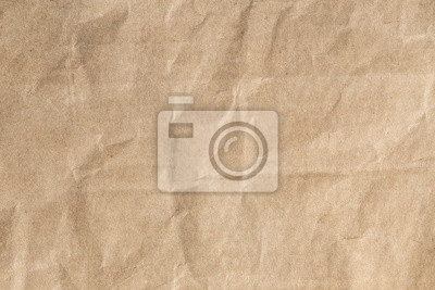 Image Recycler le papier brun texture froissée, Vieille surface de papier pour l'arrière-plan