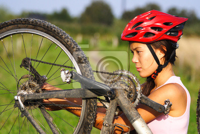 réparation de vélo de montagne