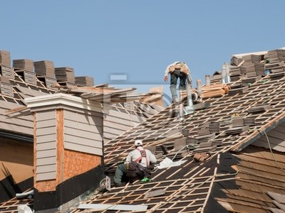 Réparation du toit