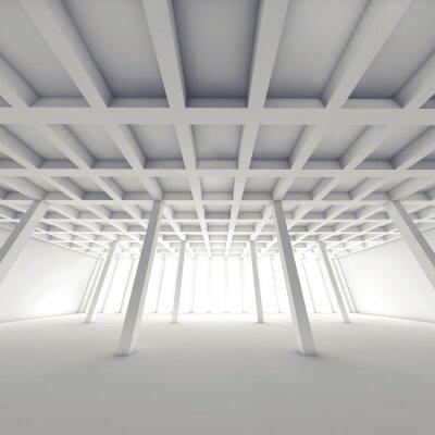 Image Résumé, architecture, vide, blanc, salle, 3, d