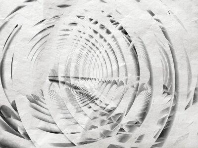 Image Résumé blanc spirale de fond illustration