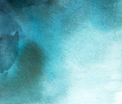 Image Résumé, bleu, aquarelle, tache, fond, divorce