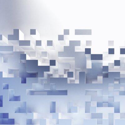 Image Résumé cubes papier peint