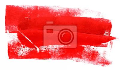Image Résumé de fond avec des traits de peinture rouge; Vecteur évolutif