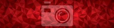 Image Résumé de fond de la géométrie vectorielle, les avions rouges panorama