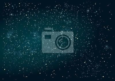 Résumé fond de ciel nocturne avec les étoiles