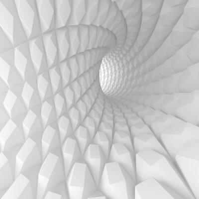 Image Résumé Spiral Tunnel Render