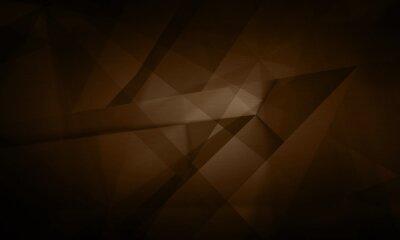 Image Résumé, technologie numérique futuriste, illustration de fond brun foncé