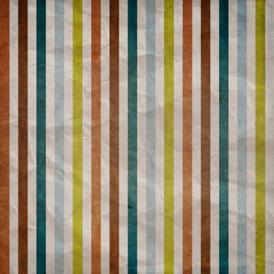 Image Retro stripe pattern - background with colored brown, blue, grey
