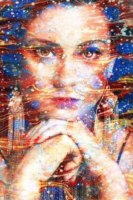 Image Ritratto multicolore