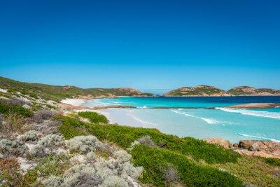 Image Rochers, plage, Lucky, baie, Esperance, occidental ...