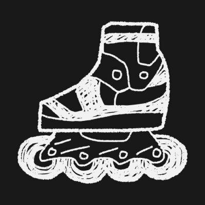 Image Roller skate doodle