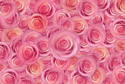 Image Rose, roses, fleur, fond, heureux, valentine, jour