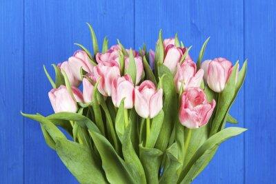 Image Rose, tulipes, bouquet, closeup
