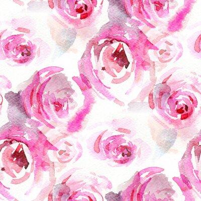 Image Roses d'aquarelle