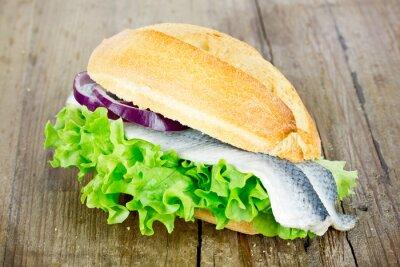 Image rouleaux de poisson