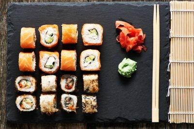 Image Rouleaux de sushi