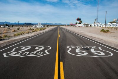 Image Route 66 signe