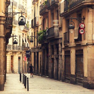 Image Rue dans le quartier gothique de Barcelone.