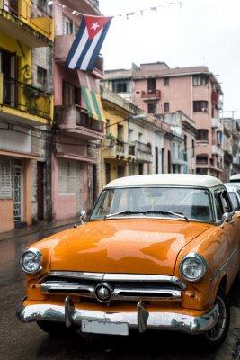 Image Rue, scène, pluvieux, jour, La Havane, Cuba