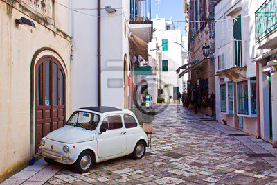 Image ruelle d'Otrante, Italie