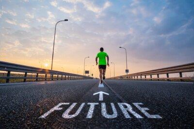 Image Run in the future