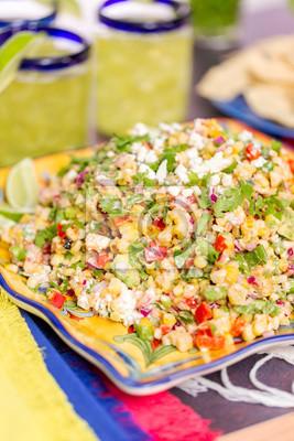 Salade de maïs à la mexicaine