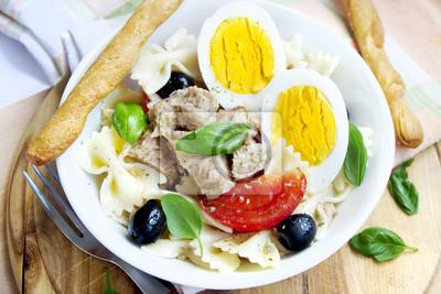 Salade de thon et œufs bouillis
