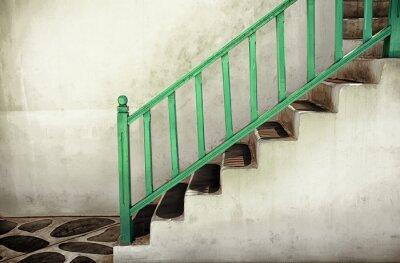 Image Sale escalier avec main courante