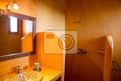 Image: Salle de bains classique marocaine