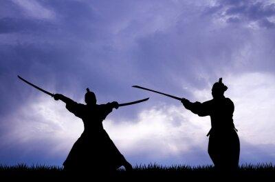 Image Samurai silhouette
