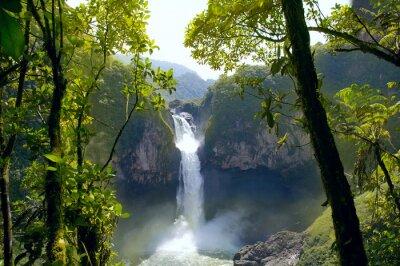 Image San Rafael Falls. La plus grande cascade en Equateur
