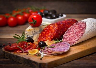 Image Saucisse de salami