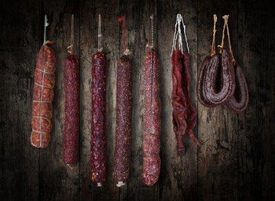 Image saucisses de salami