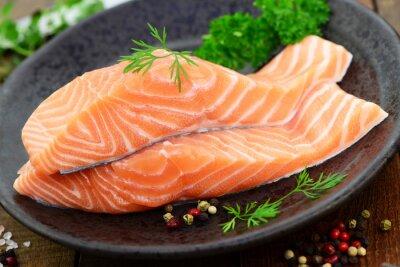 Image saumon herbes