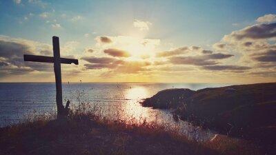 Image Scénique, Lever soleil, littoral, Bulgarie