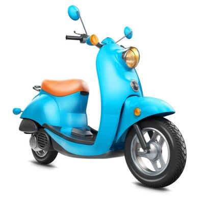 Image Scooter rétro classique