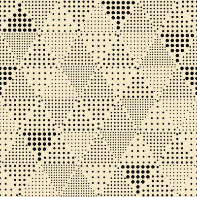 Image Seamless abstract modern triangle geometric pattern