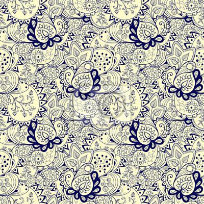 Seamless floral abstrait, fond.